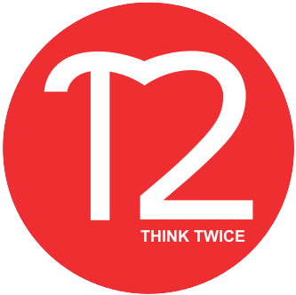 Think Twice logo